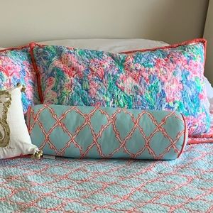 Lilly Pulitzer X Pottery Barn Bolster Pillow